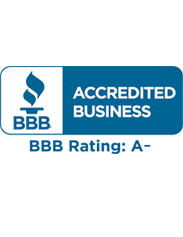 BBB | Accredited Business | BBB Rating A-